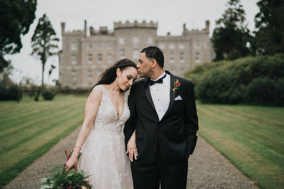 Anjelica & Andrew - Markree Castle Destination Wedding Ireland 34