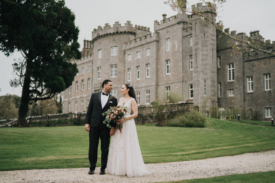 Anjelica & Andrew - Markree Castle Destination Wedding Ireland 35