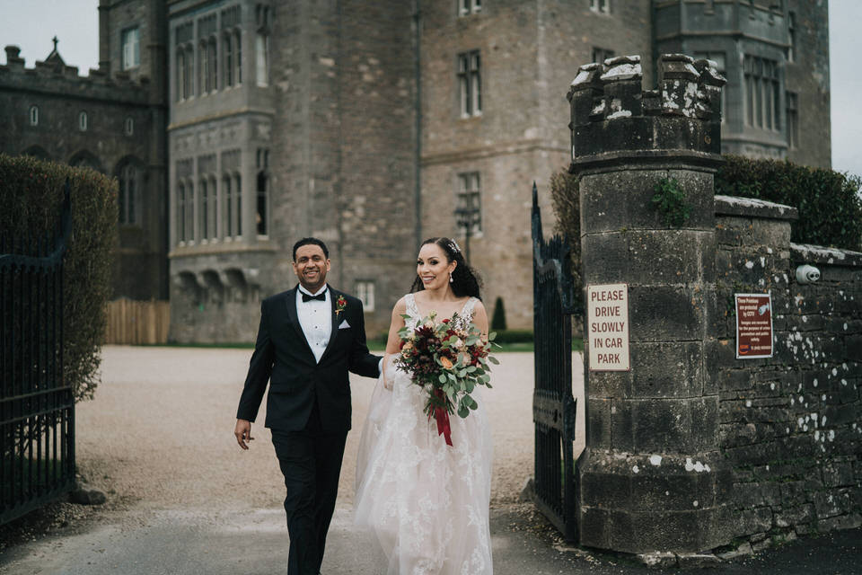 Anjelica & Andrew - Markree Castle Destination Wedding Ireland 40