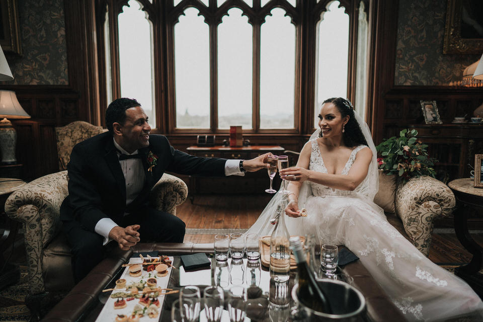 Anjelica & Andrew - Markree Castle Destination Wedding Ireland 60