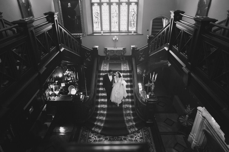 Anjelica & Andrew - Markree Castle Destination Wedding Ireland 62