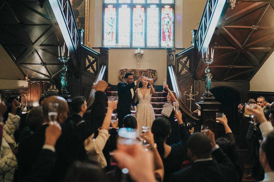 Anjelica & Andrew - Markree Castle Destination Wedding Ireland 76