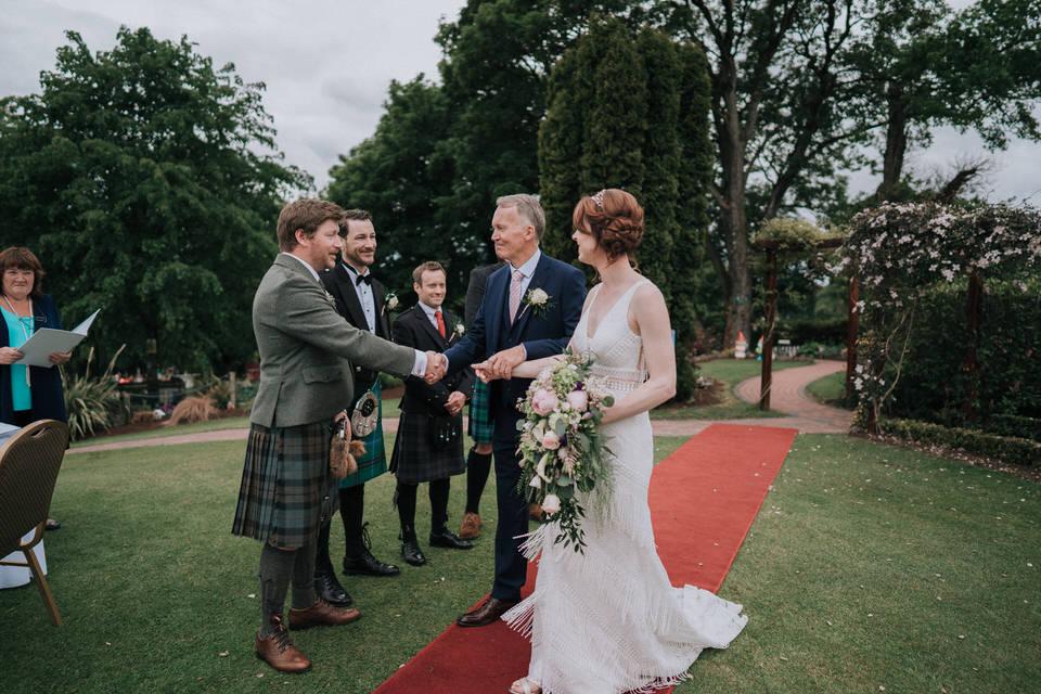 Crover House wedding - Laura&Alasdair 134
