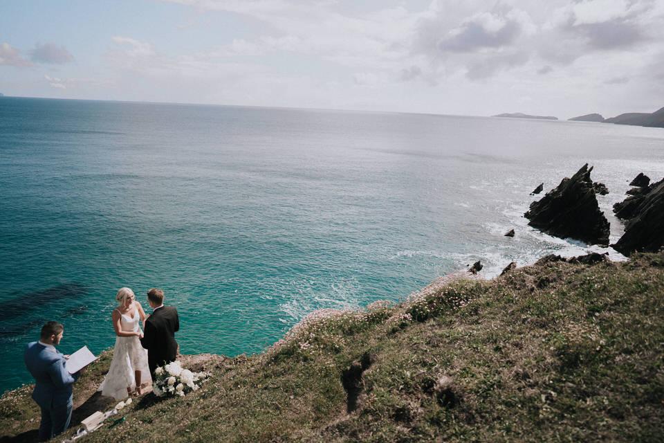 Hailey & Carson - elopement wedding Ireland - Dingle co.Kerry 39