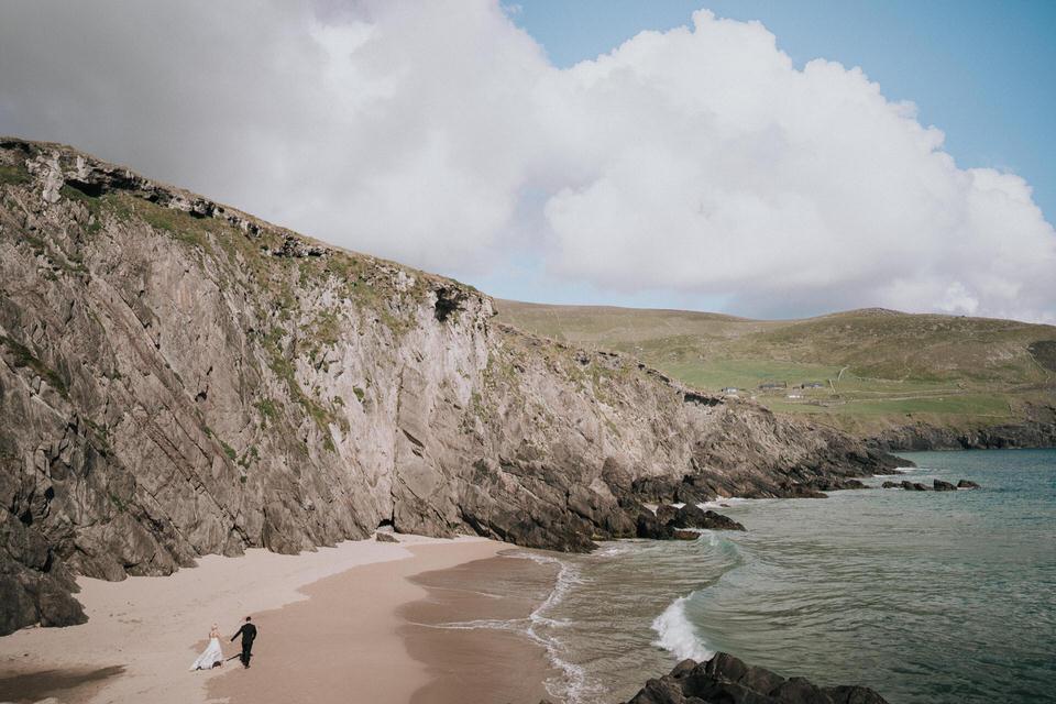 Hailey & Carson - elopement wedding Ireland - Dingle co.Kerry 63
