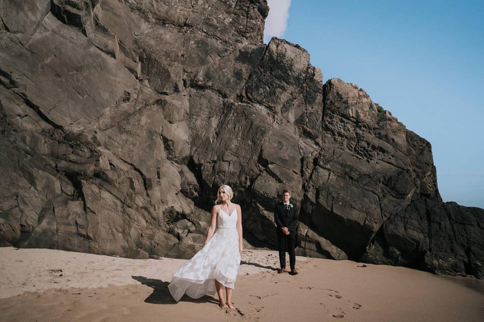 Hailey & Carson - elopement wedding Ireland - Dingle co.Kerry 67