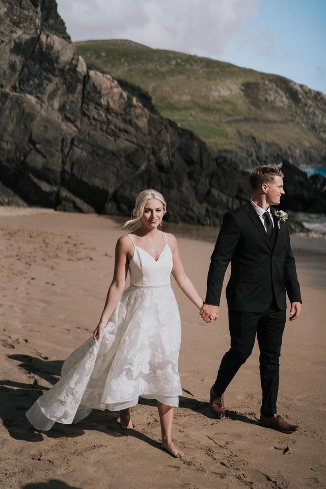 Hailey & Carson - elopement wedding Ireland - Dingle co.Kerry 72