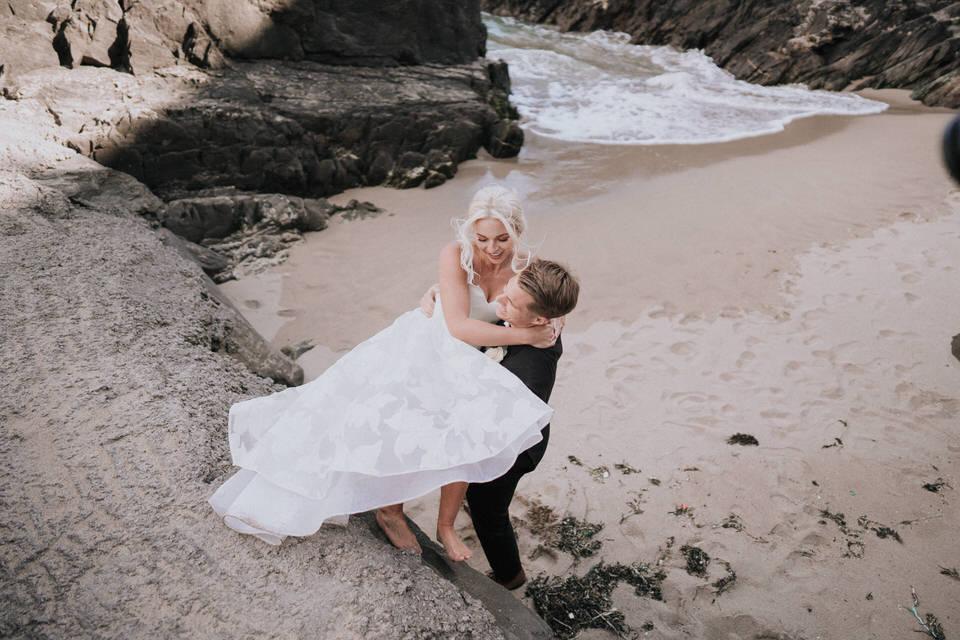 Hailey & Carson - elopement wedding Ireland - Dingle co.Kerry 73