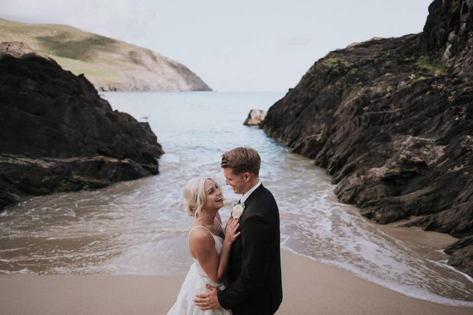 Hailey & Carson - elopement wedding Ireland - Dingle co.Kerry 75