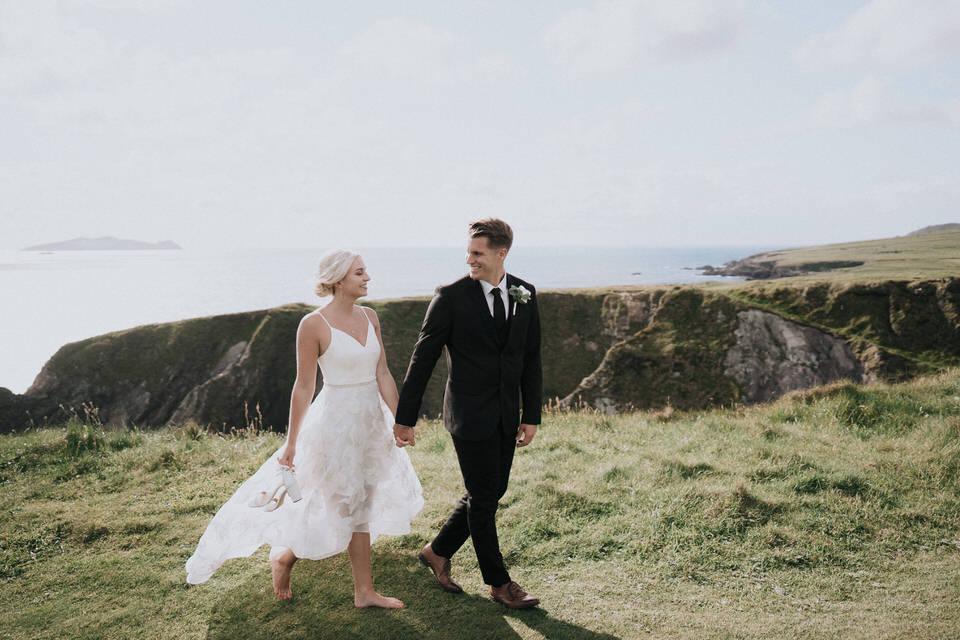 Hailey & Carson - elopement wedding Ireland - Dingle co.Kerry 85