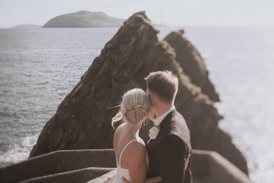 Hailey & Carson - elopement wedding Ireland - Dingle co.Kerry 4