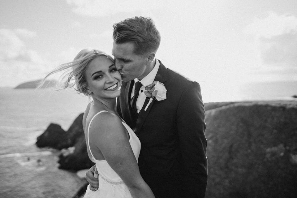 Hailey & Carson - elopement wedding Ireland - Dingle co.Kerry 96