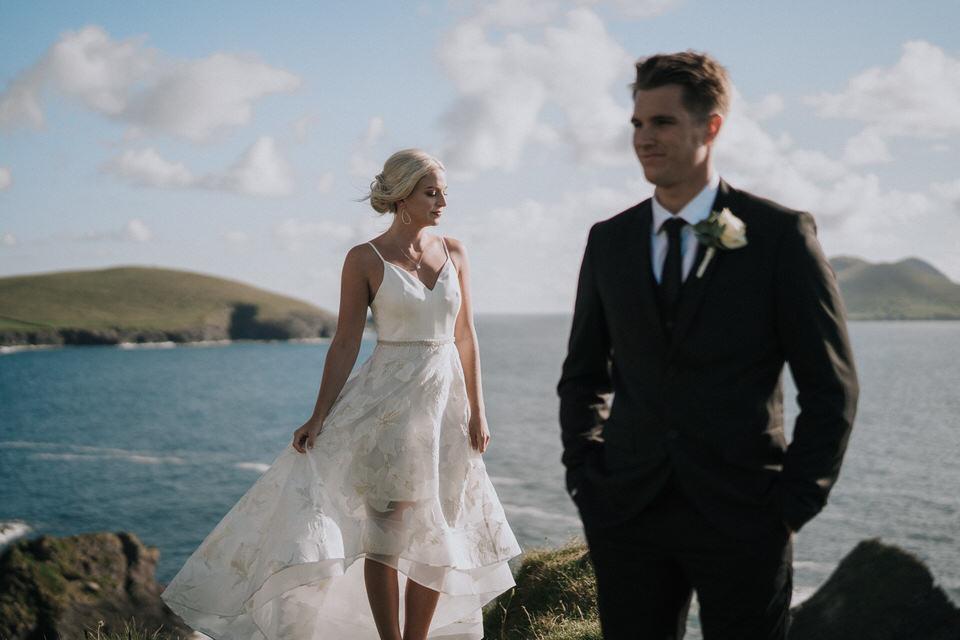 Hailey & Carson - elopement wedding Ireland - Dingle co.Kerry 98