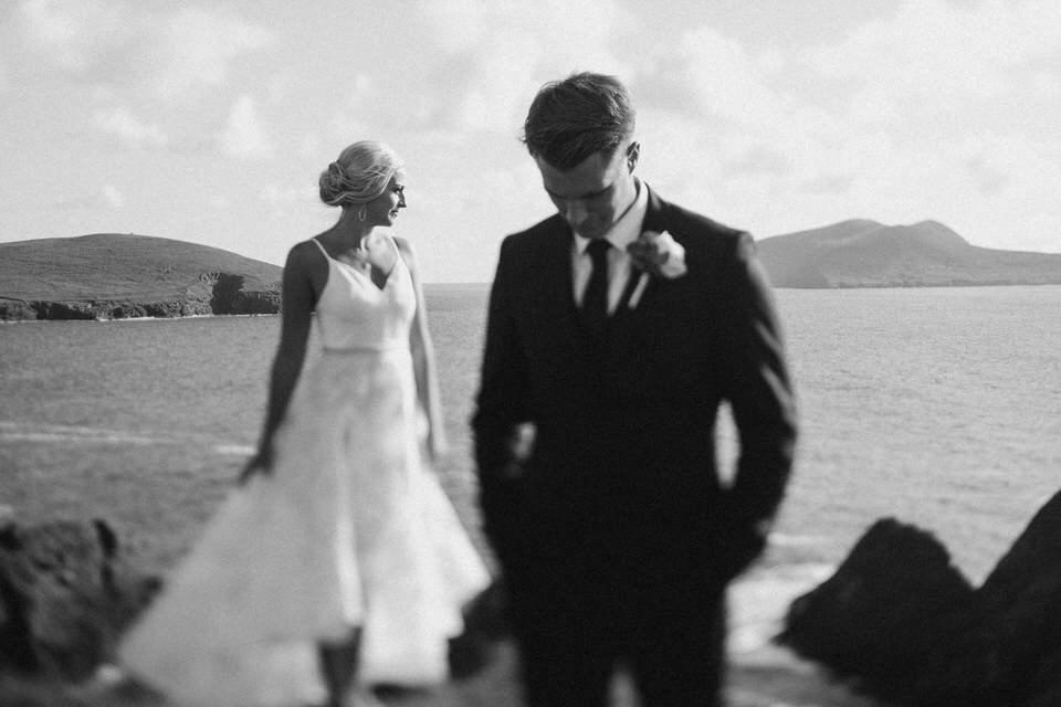 Hailey & Carson - elopement wedding Ireland - Dingle co.Kerry 99