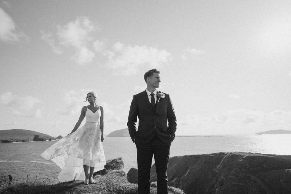 Hailey & Carson - elopement wedding Ireland - Dingle co.Kerry 100