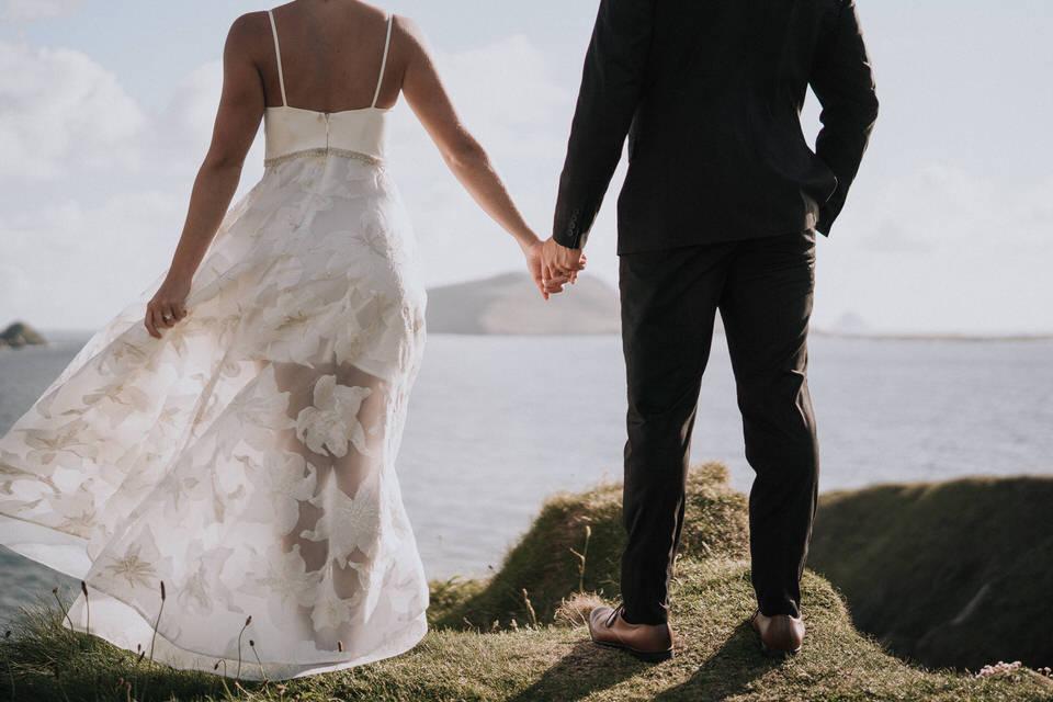 Hailey & Carson - elopement wedding Ireland - Dingle co.Kerry 102