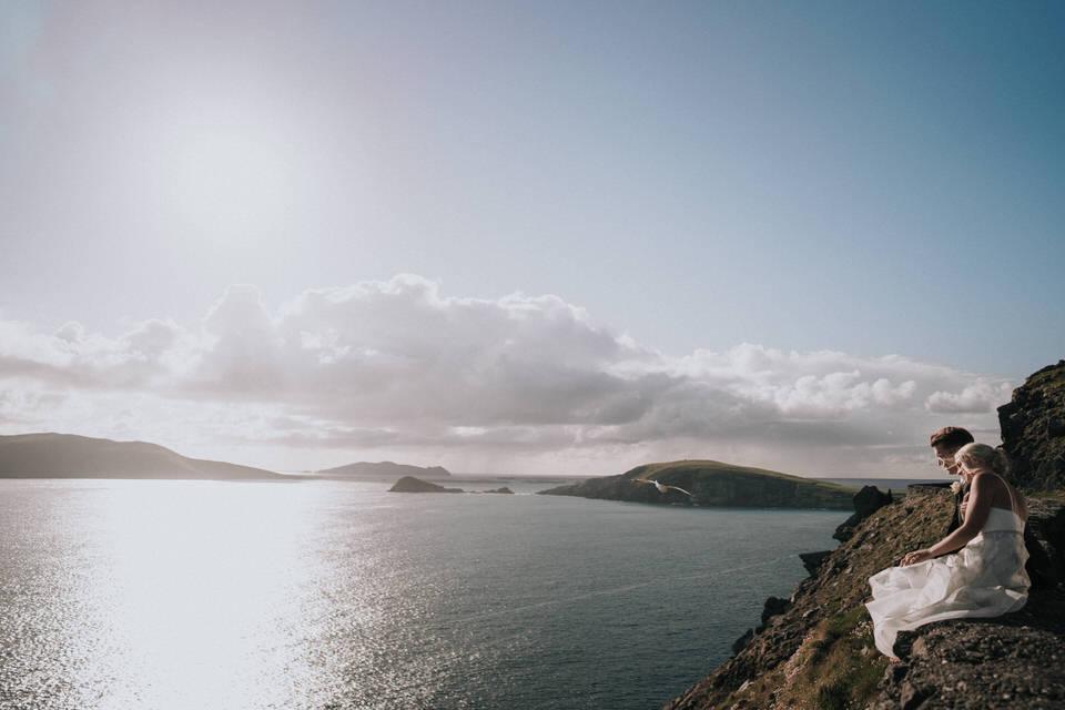Hailey & Carson - elopement wedding Ireland - Dingle co.Kerry 103