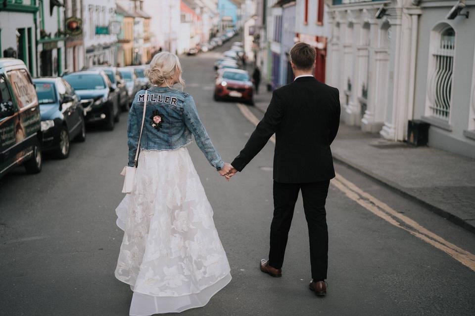 Hailey & Carson - elopement wedding Ireland - Dingle co.Kerry 120