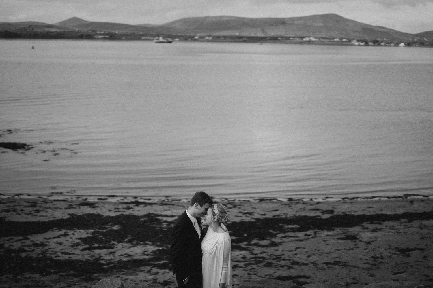 Aileen & Diarmuid relaxed wedding day at Ballintaggart House - Dingle wedding 72