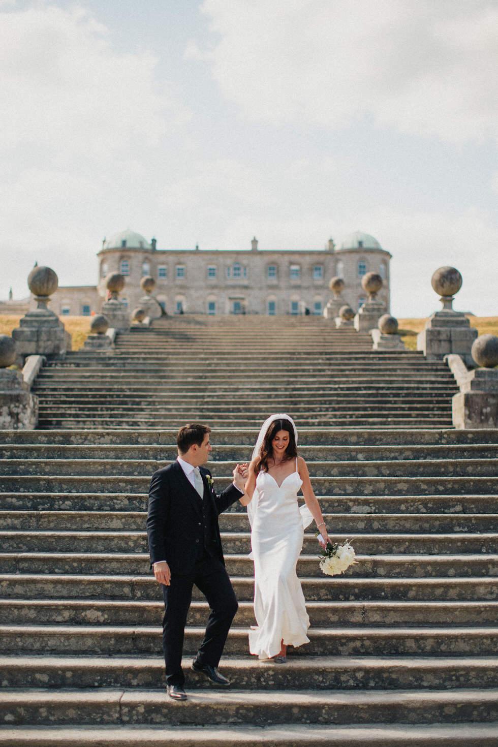 Powerscourt Gardens wedding 1