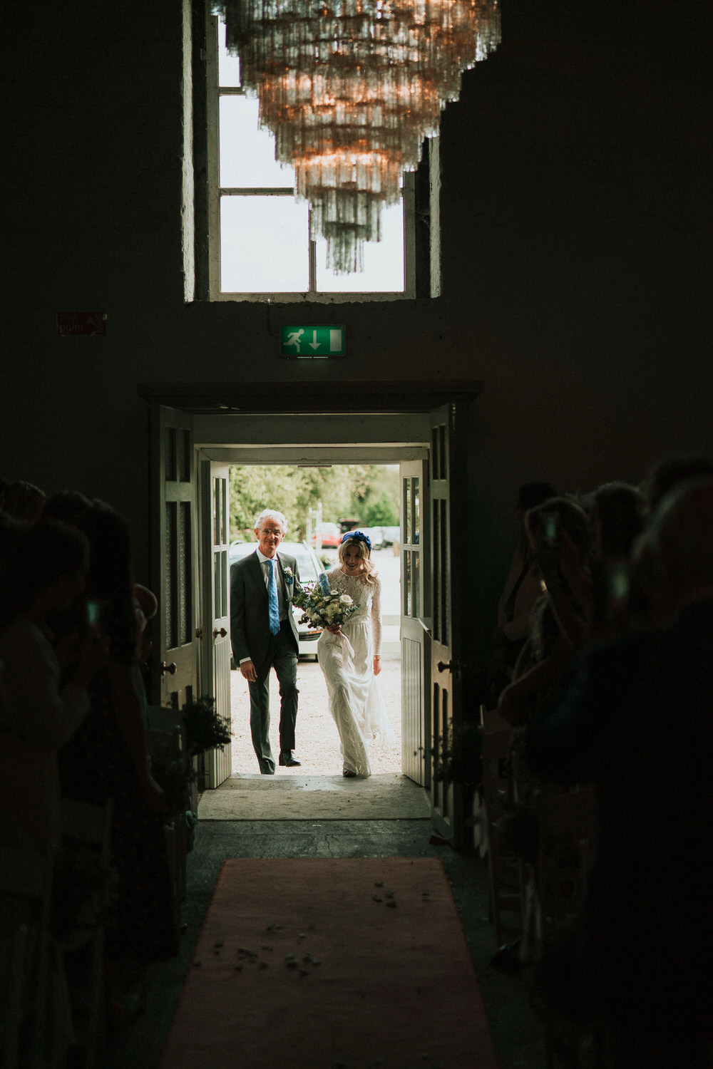The Millhouse wedding ceremony | C&C - Irish wedding 53