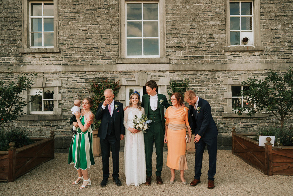 The Millhouse wedding ceremony | C&C - Irish wedding 124