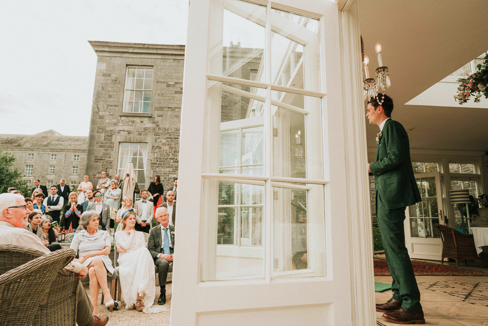 The Millhouse wedding ceremony | C&C - Irish wedding 148