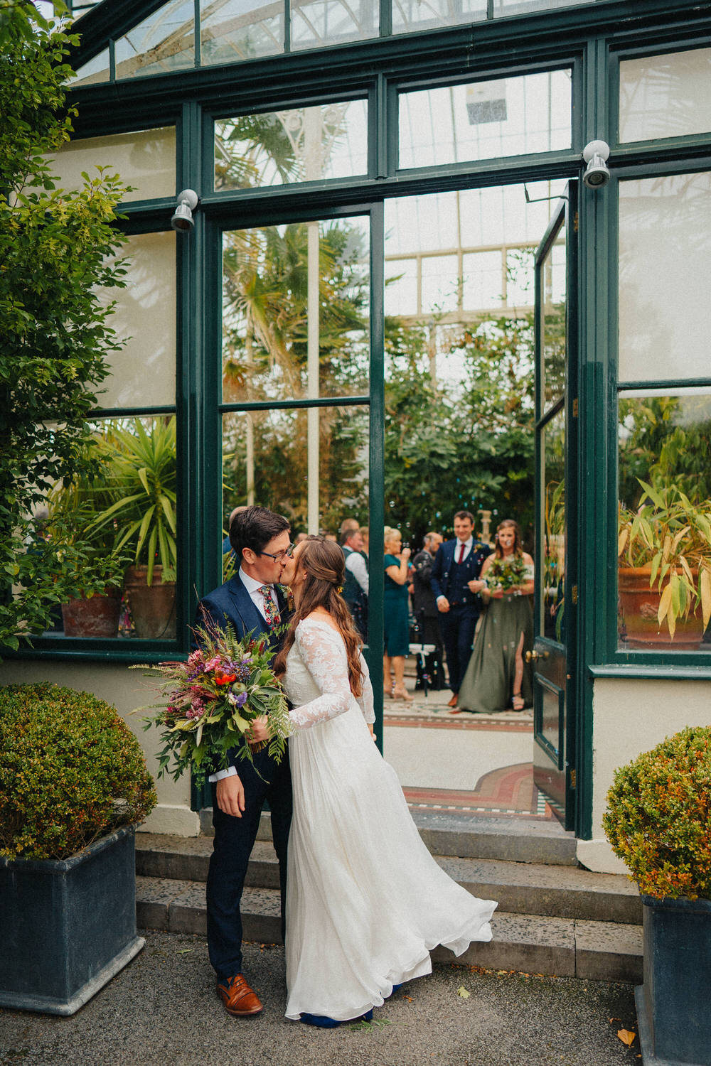 Kilshane House summer wedding celebration of Anna & Kev 62