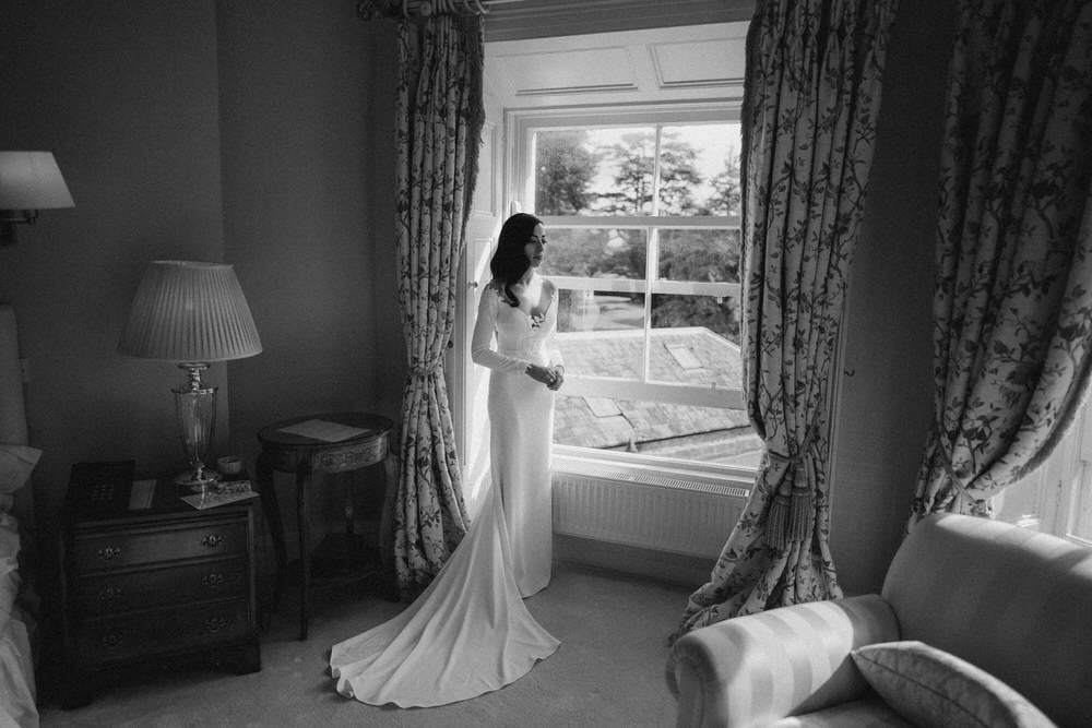 Black&White wedding frames - basis of the photography 7