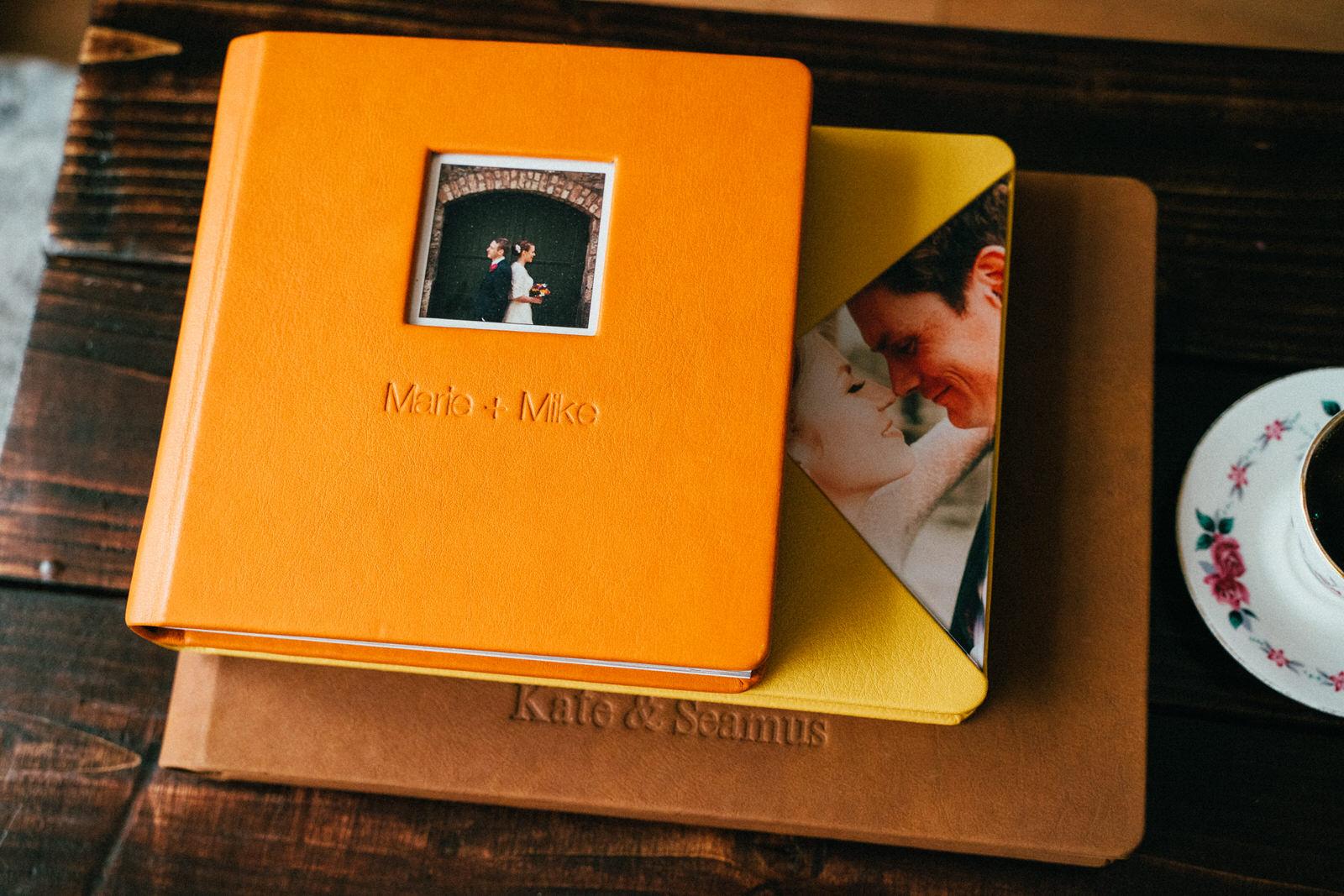 Irish wedding larde photobook
