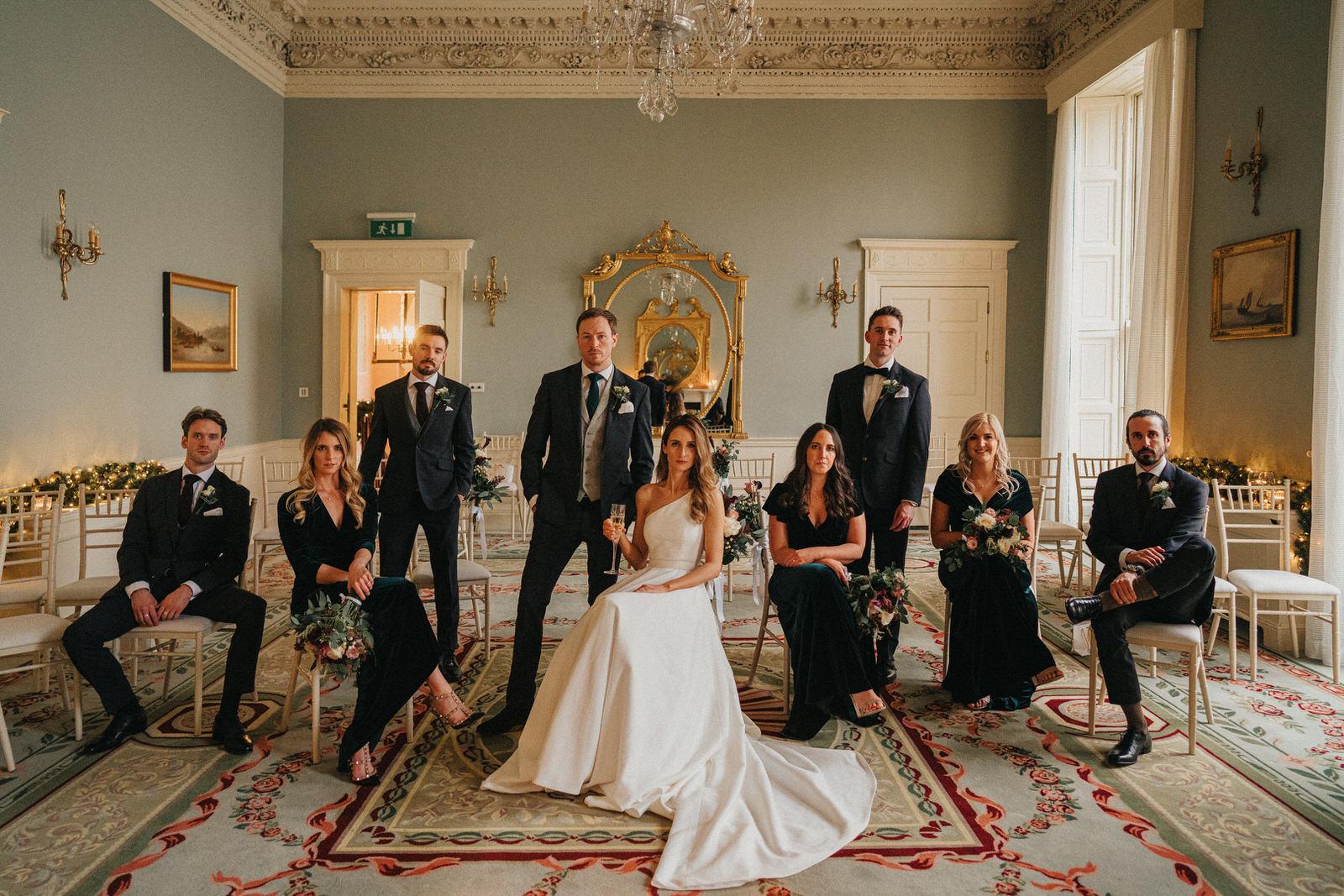 the Merrion Hotel - wedding portraits - E&R 3