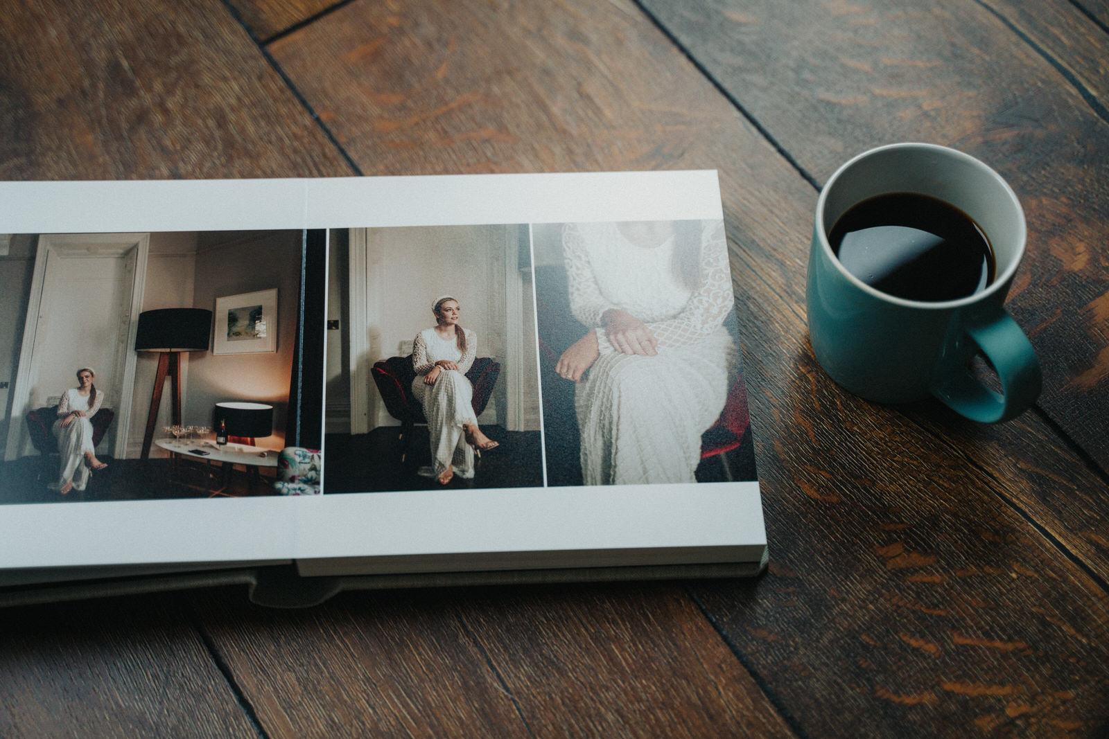 Linen Album 20x20cm - 40 pages 5